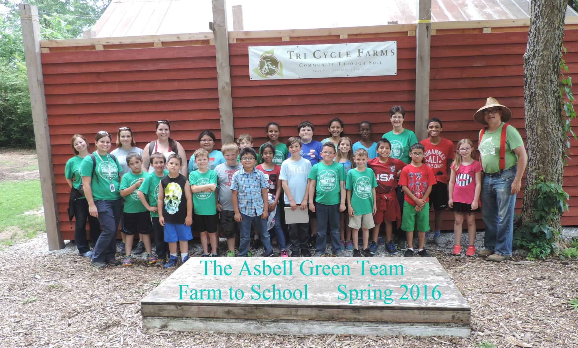 green-team-farm-to-school-tri-cycle