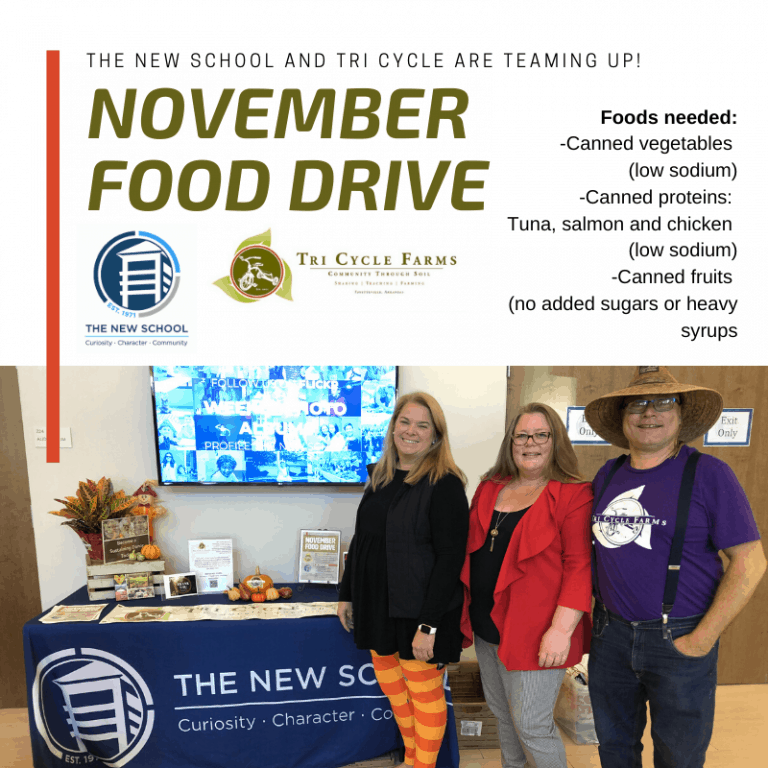 November Food Drive with The New School